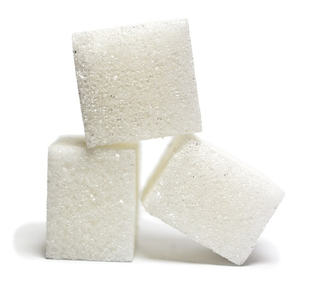 sugar cubes in coke