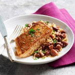 snapper with redbeans
