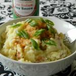 Wasabi Mashed Potatoes