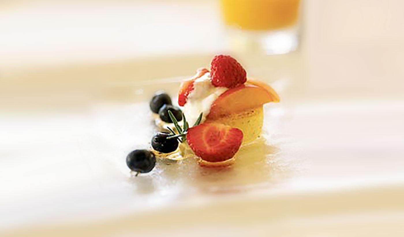 Apricot Breakfast Polenta