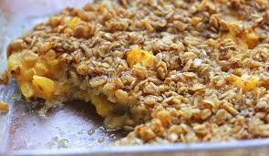 oatmeal with walnut and mangoes