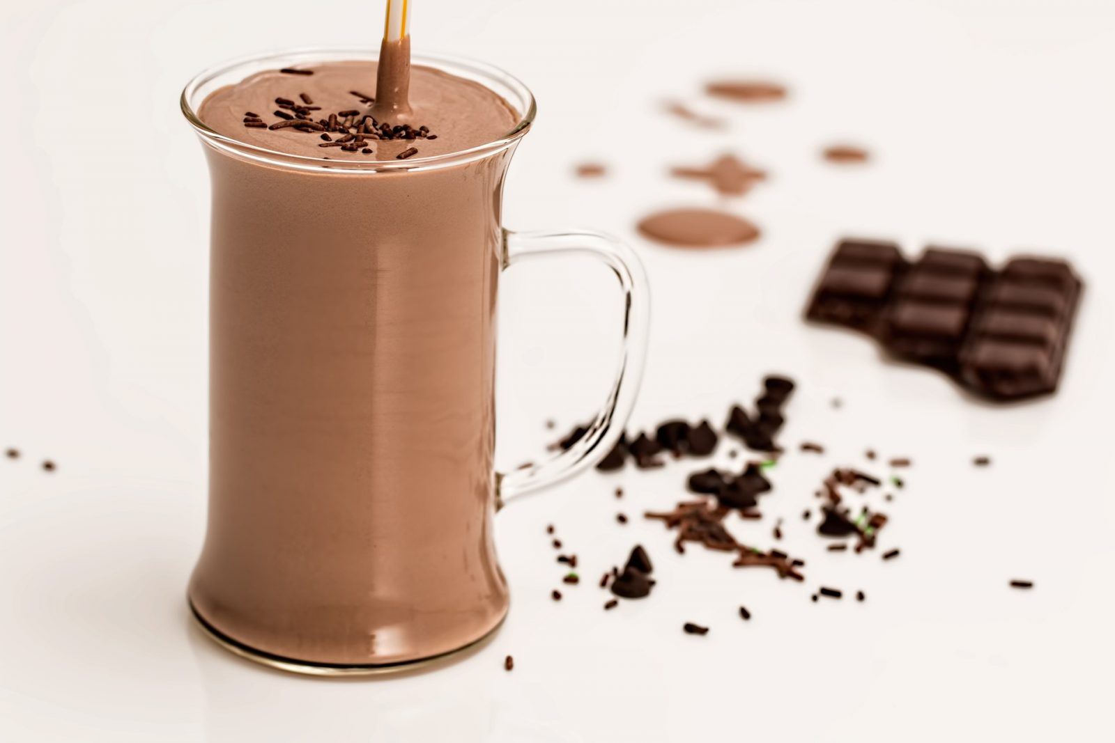 Chocolate Soy Sundae Smoothie