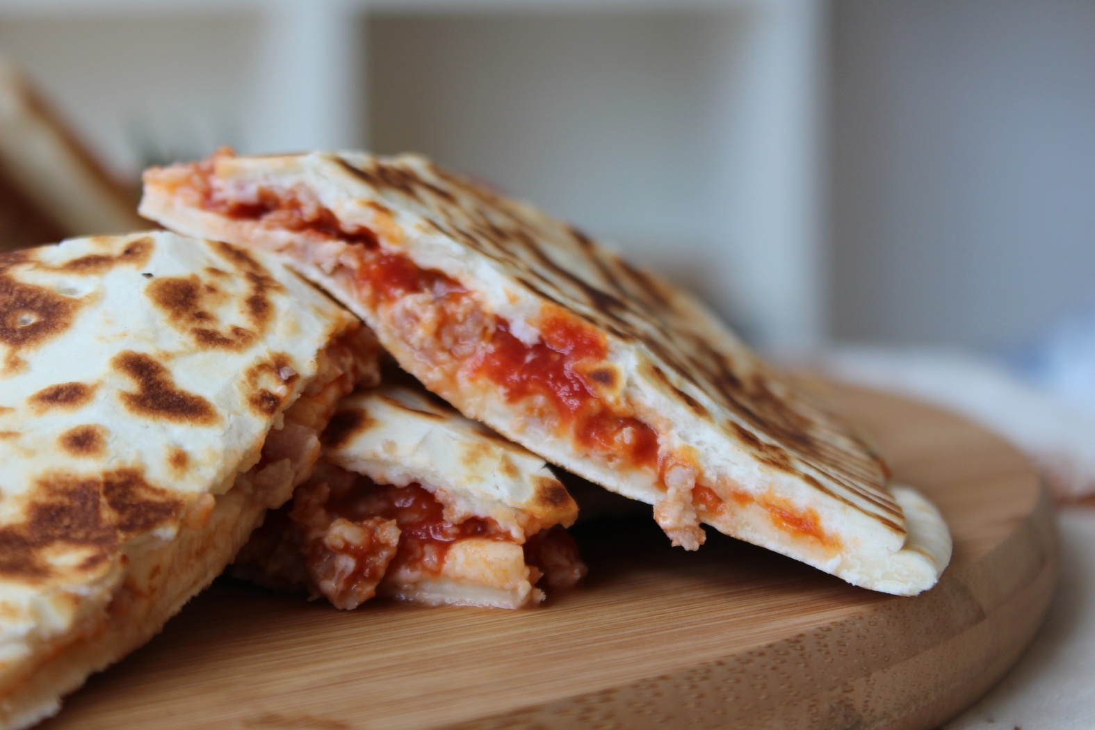 Smoked Shrimp Quesadillas