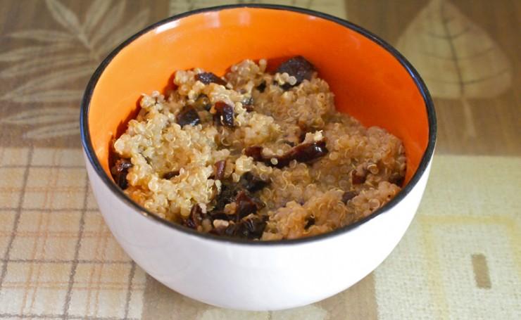 quinoa with prunes