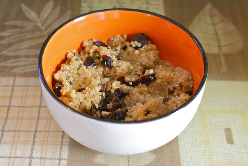 quinoa with prunes