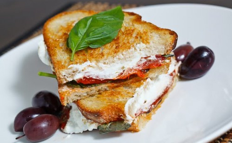 roasted pepper panini