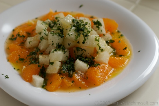 tangerine jicama salad