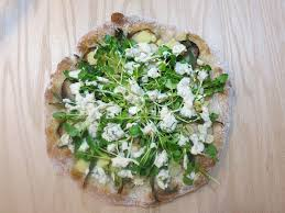 watercress pizza
