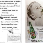 Vintage sugar ads from Dr John La Puma
