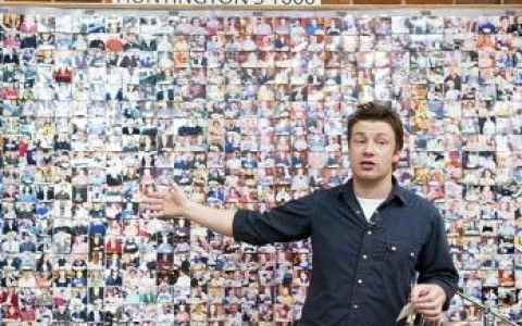 Jamie Oliver illustrating policy change in West Virginia...from Dr John La Puma