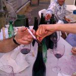 Hand Bottling La Puma Sangiovese, 2010