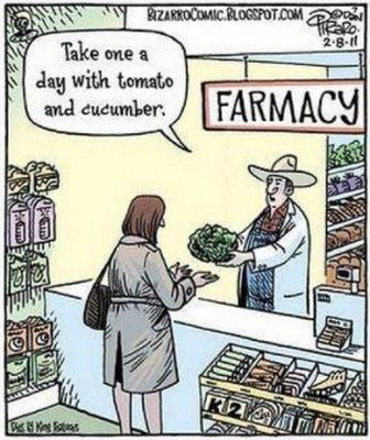 "@johnlapuma @ChefMD asks ""Have you received Food as Medicine RX yet?"""