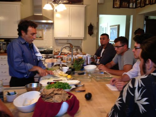 Cooking with Dr John La Puma
