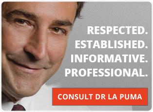 Consult Dr La Puma, M.D.