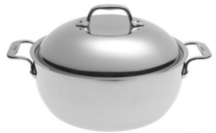 All-Clad Stainless 5-1/2-Quart Dutch Oven
