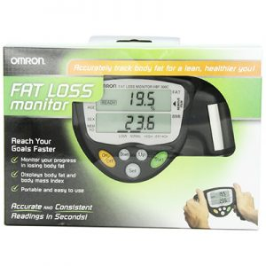 Omron HBF 306C Fat Loss Monitor, Black