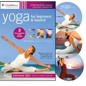Yoga for Beginners Boxed Set (Yoga for Stress Relief / AM-PM Yoga for Beginners / Essential Yoga for Inflexible People) (2008)