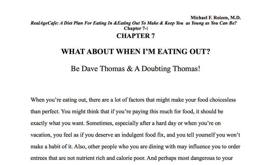 The Detailed Chapter