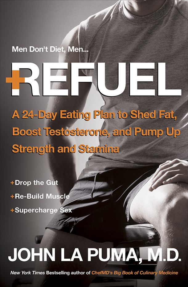 Refuel The Book healthy eating meal plan