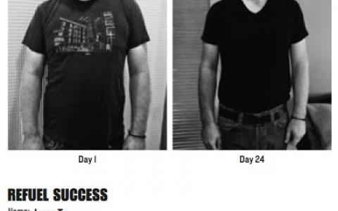 Successful men REFUEL
