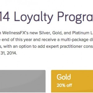 WellnessFX's 2014 Loyalty Program