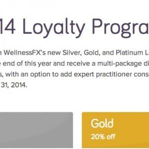 WellnessFX's 2014 Loyalty Program