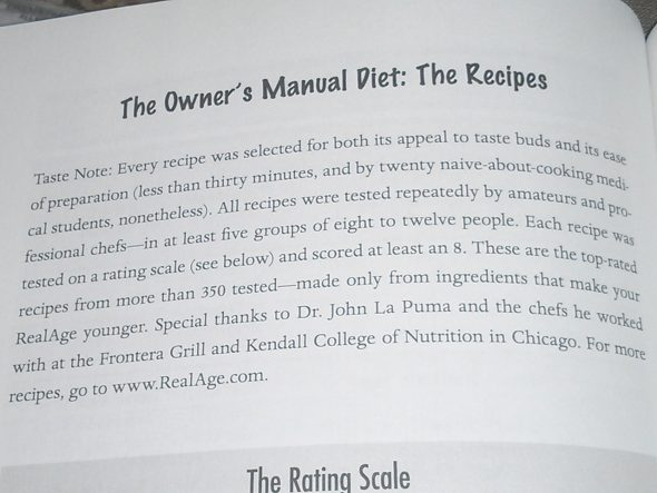 Roizen Dr Oz YOU Recipes