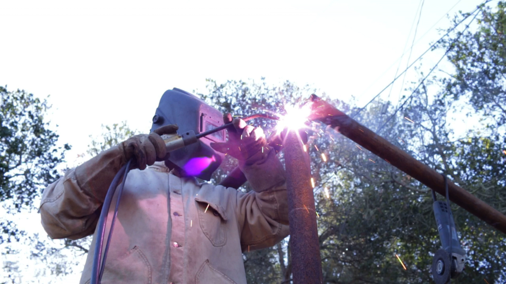 A different burnout: Welding a Horse Corral Refueled
