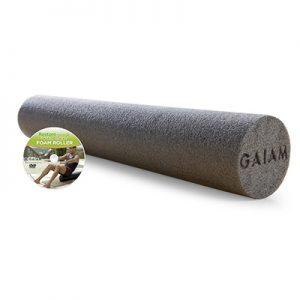 Gaiam Restore 36-Inch Foam Roller w/ DVD