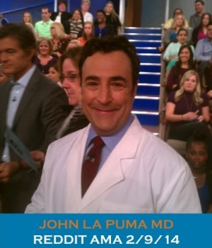 Dr La Puma for REDDIT AMA Proof