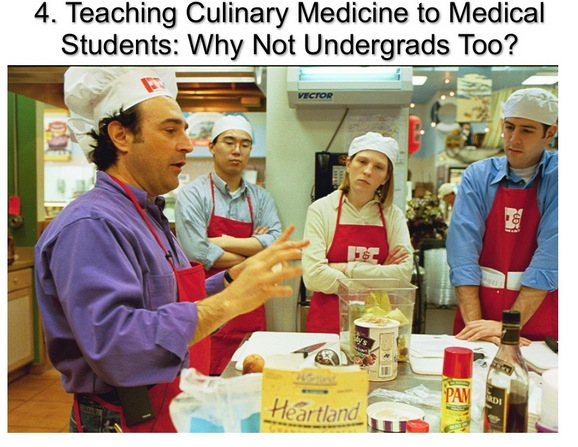 Teaching culinary medicine to medical students John La Puma