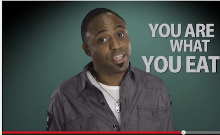 You Are What You Eat: Wayne Brady Video