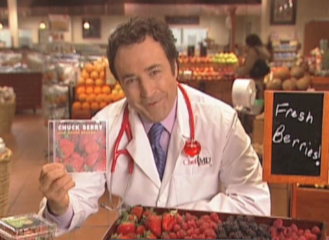 Berries and Chuck Berry ChefMD