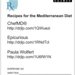 Rx Recipes for the Mediterranean Diet