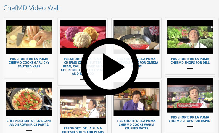 Chef MD Video Wall