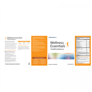 Wellness Essentials® Healthy Balance Nutrition Facts and Ingredients