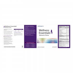 Wellness Essentials Women's Prime Nutrition Facts and Ingredients