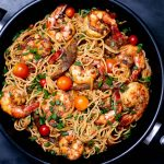 Pan-Asian Shrimp & Vegetables