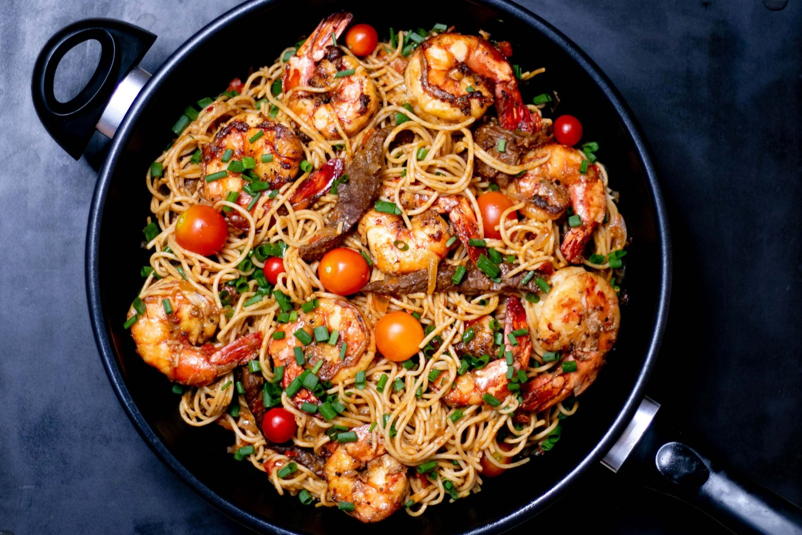 Pan-Asian Shrimp & Vegetables