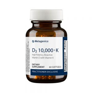 D3 10,000 + K High Potency, Bioactive Vitamin D with Vitamin K