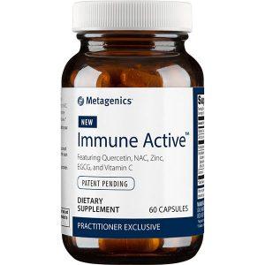 Immune Active Featuring quercetin, NAC, zinc, EGCG, and vitamin